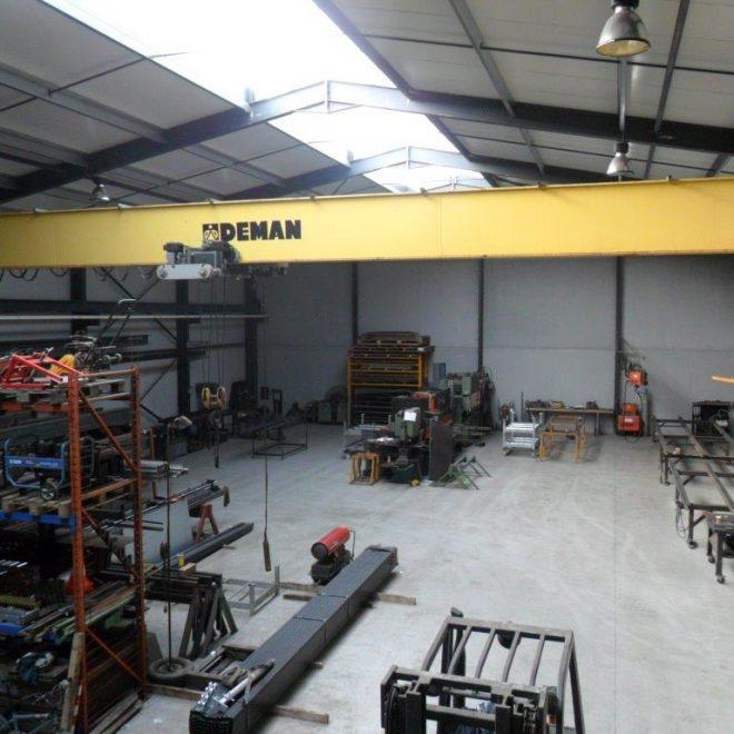 Werkplaats Gicon-construct