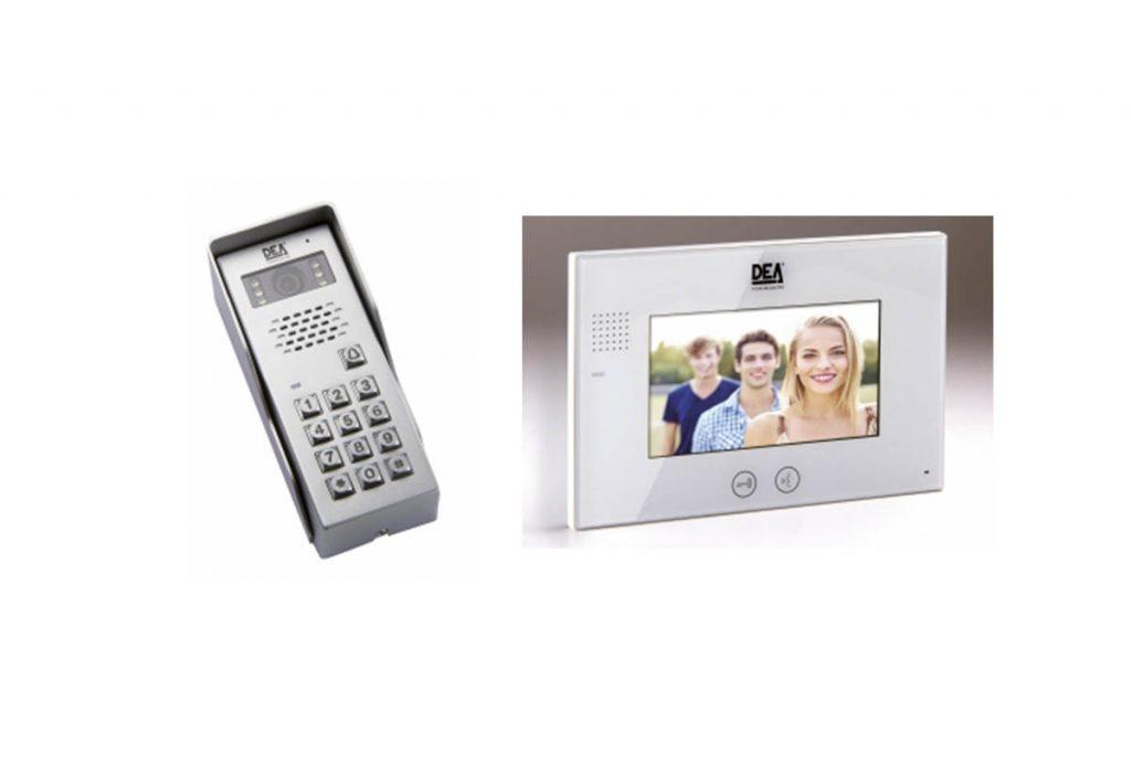 videofoon codeklavier